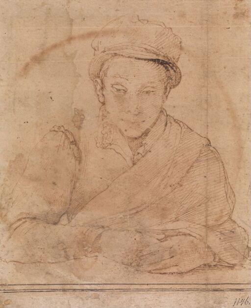 Ung mann med hatt