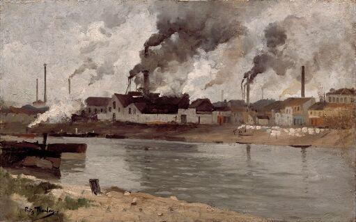 Factories in Ivry