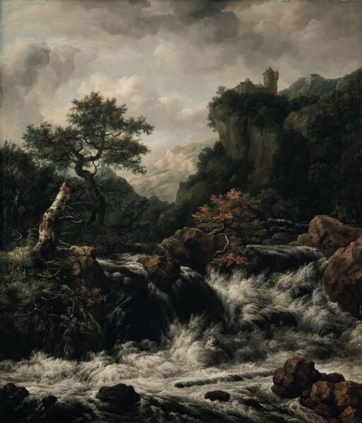 Copy of Landscape by J. Ruisdael