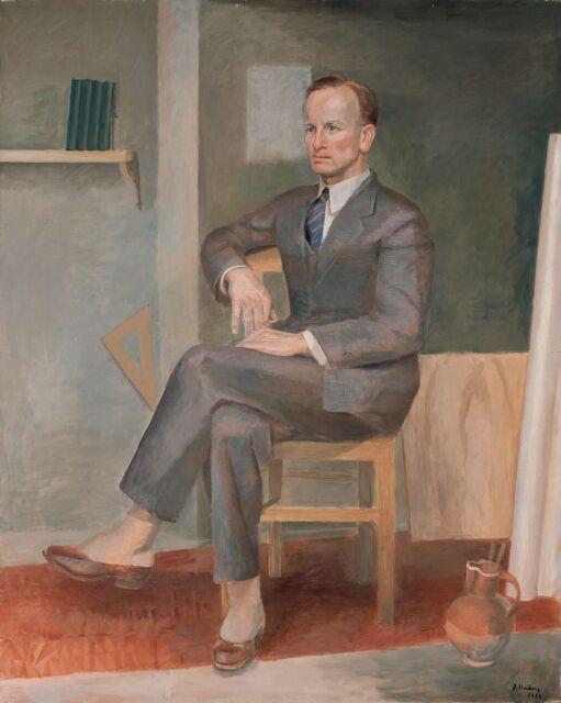 Den danske maler Georg Jacobsen