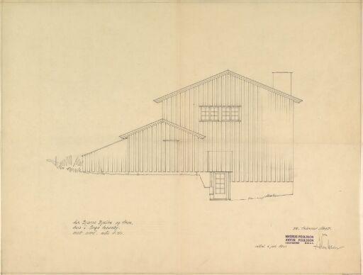 Hus for Bjelke, fasade mot nord