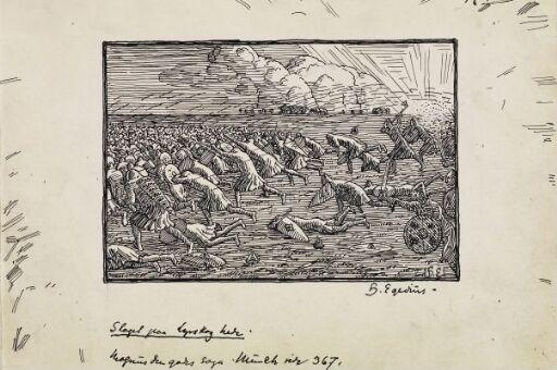 Battle Scene from Lyrskog Moor