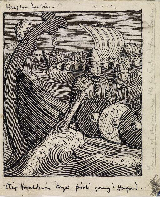 Olav og Rane i viking