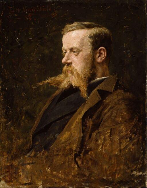 Portrait of the Painter Nikolai Ulfsten