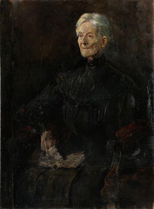 Fru Betsy Gude, f. Anker