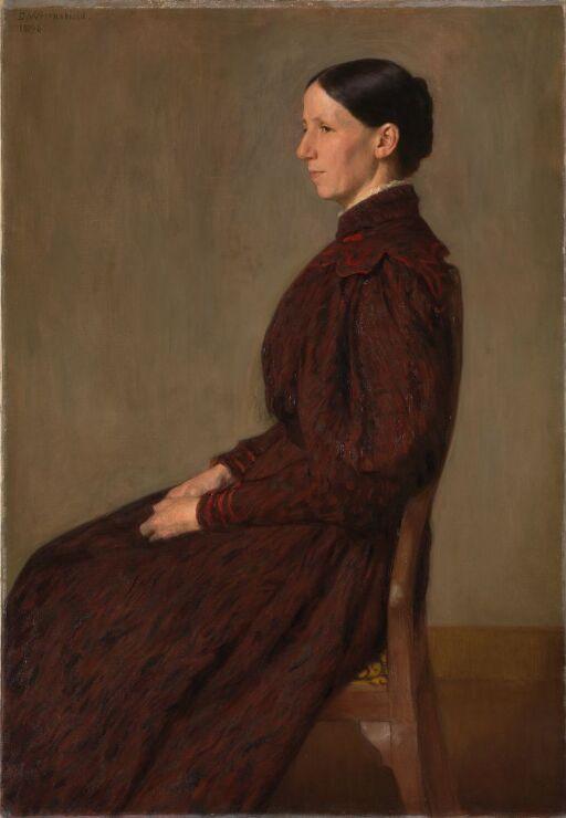 Portrait of Mrs. Anna Dick