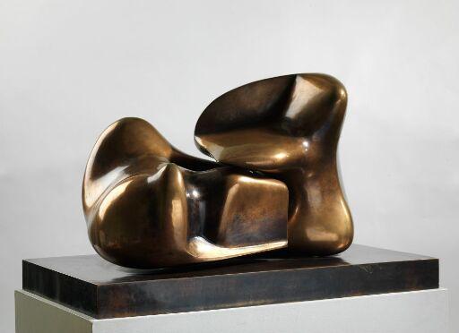 Todelt skulptur nr. 10: Sammenføyet