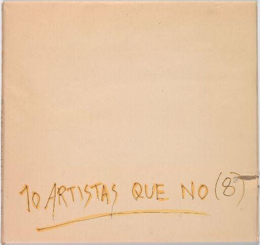 10 artistas que no (8) (Artist's Book)