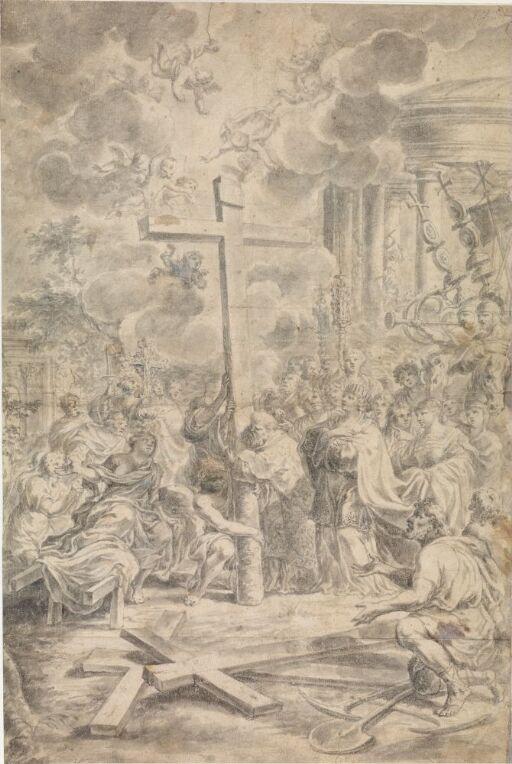 Den hellige Helena finner det hellige kors
