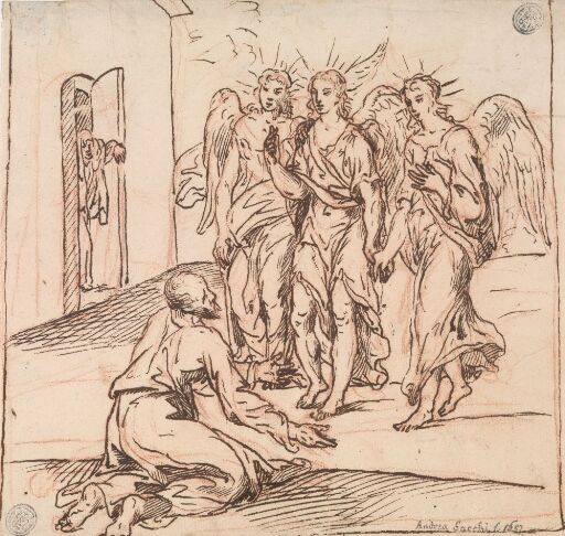 Abraham og englene