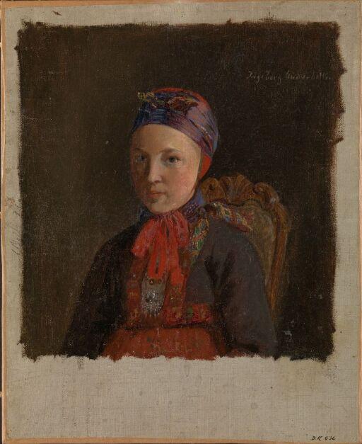 Portrait of Ingeborg Anderdatter Gulsvig
