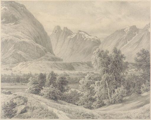 Fra Romsdalen, mot Isterdalen