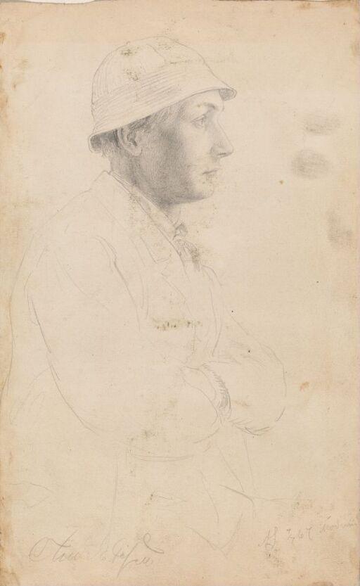 Mann i profil