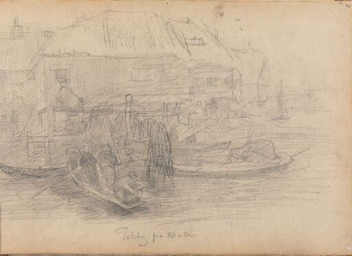 Småbåter ved kaien