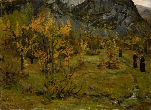 Autumn Landscape, Øylo