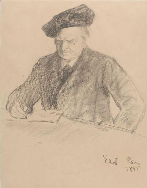 Portrait of the Poet Bjørnstjerne Bjørnson