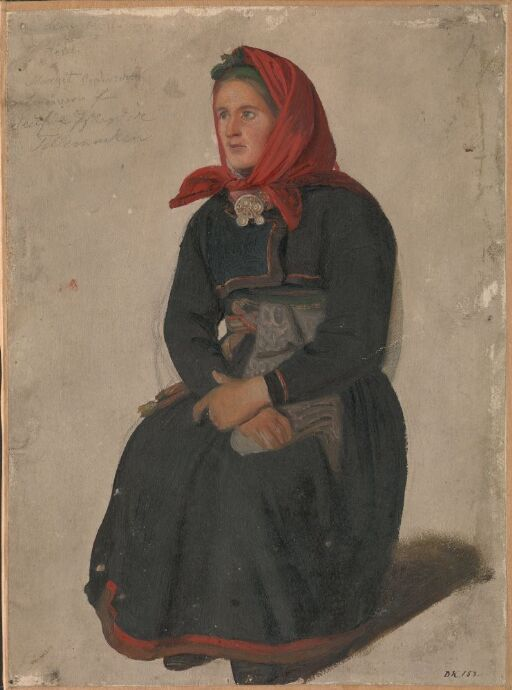 Peasant Woman from Telemark