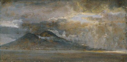 Napoligolfen med Vesuv
