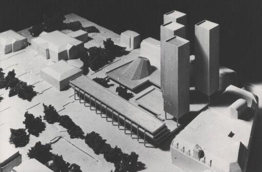 Utkast til bebyggelse av Karl Johan-kvartalet