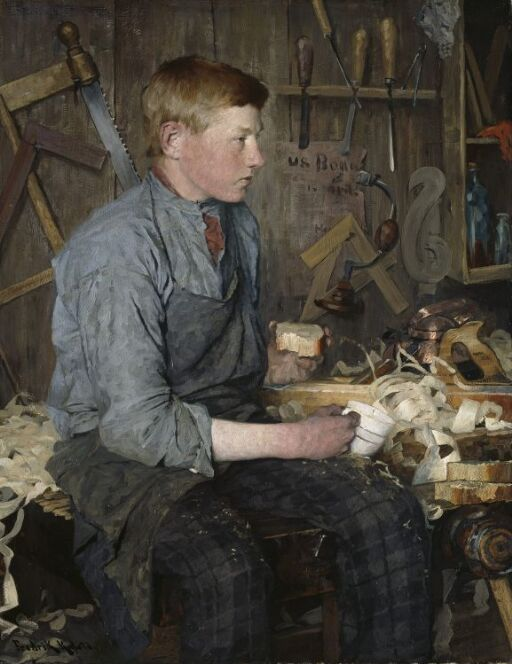 The young Carpenter