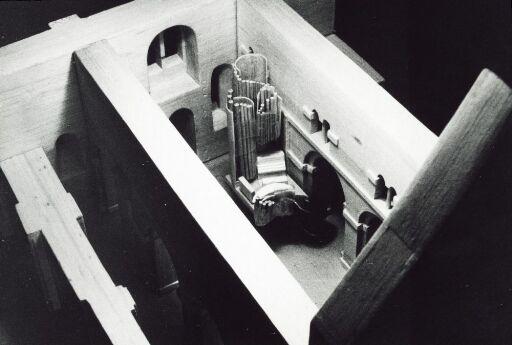 Utkast til orgel i Mariakirken