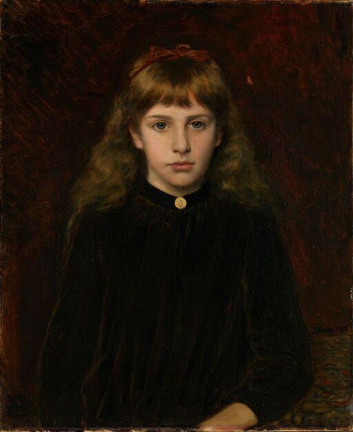 Portrait of Dagny Kiær