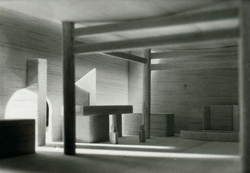 Utkast til kirke i Nordkapp