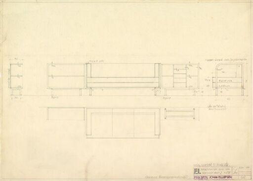 Design til sofa til Fysisk Institutt