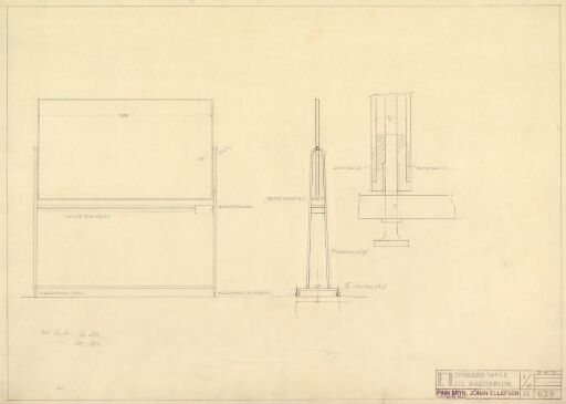 Design til svingbar tavle til Fysisk Institutt