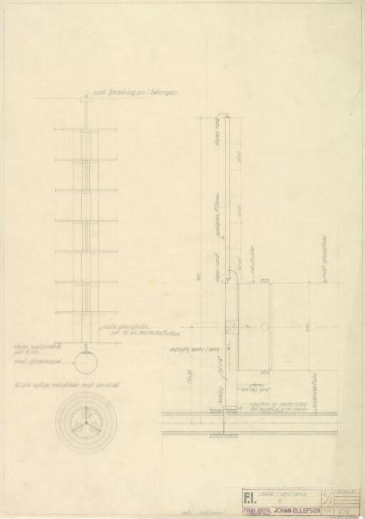 Design til lampe i vestibylen på Fysisk Institutt