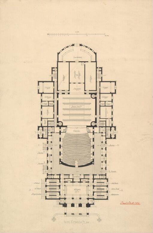 Ny teaterbygning i Kristiania