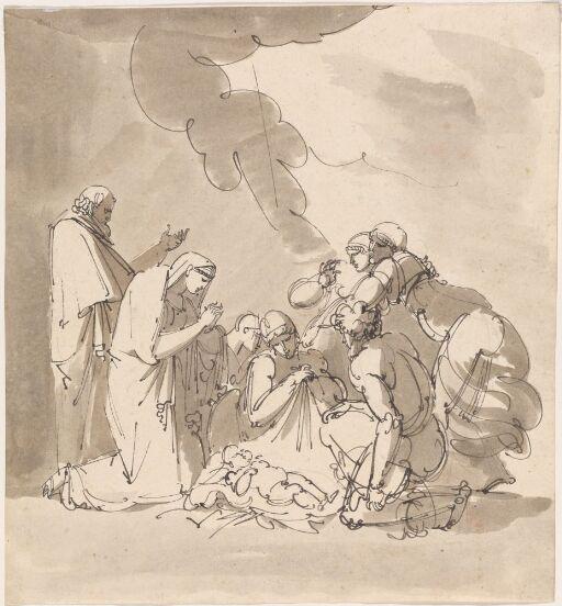 Jesusbarnet tilbes