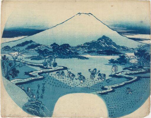 Fuji-fjellet sett fra Tago