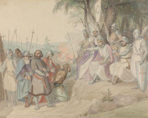 Olav den hellige og de fangne småkonger