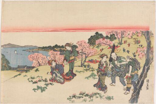 Feiring av kirsebærblomstringen i Goten-yama