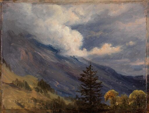 View from Grindelwald in Switzerland