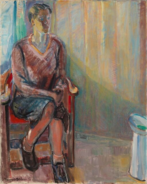 Seated Woman in an Interior