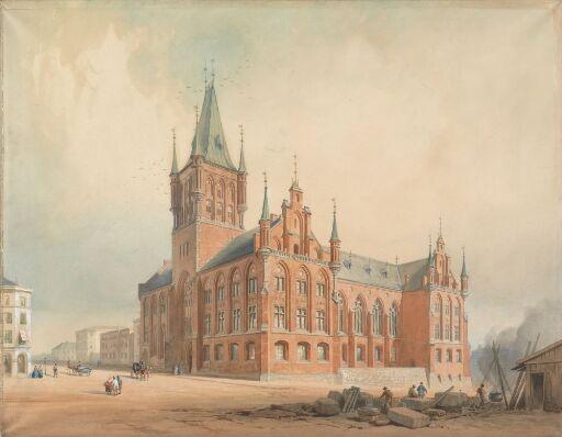 Proposal for a Parliament Building