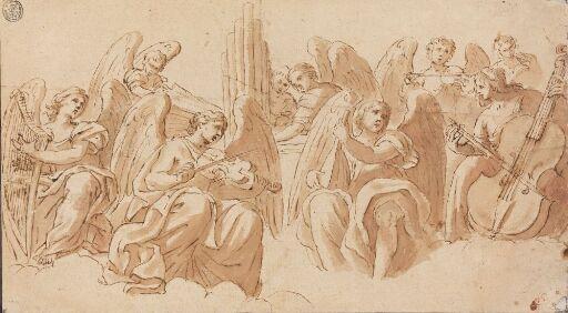 Musiserende engler