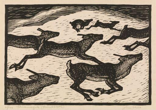 Reindeer Calves II