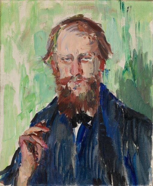 Den danske kunsthandler M. Grosell