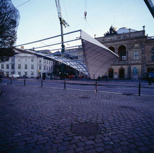 Utkast til utvidelse av Det Kongelige Teater i København