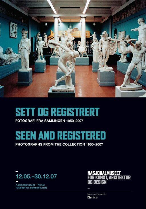 Sett og registrert. Fotografi fra samlingen 1950-2007