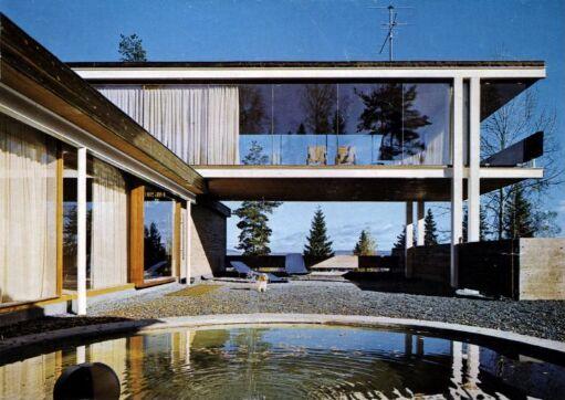 Arkitekt Geir Grungs eget hus på Jongskollen
