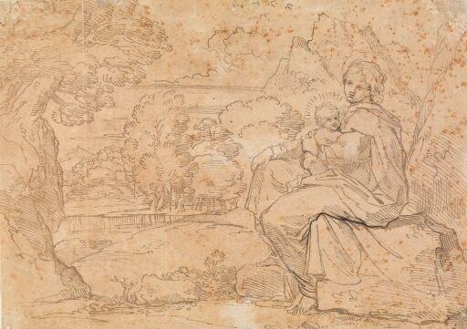 Maria med Jesusbarnet