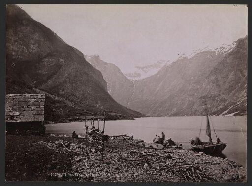 Parti fra Styve, Nærøfjorden i Sogn