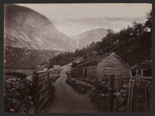 Veien til Vøringfos i Hardanger