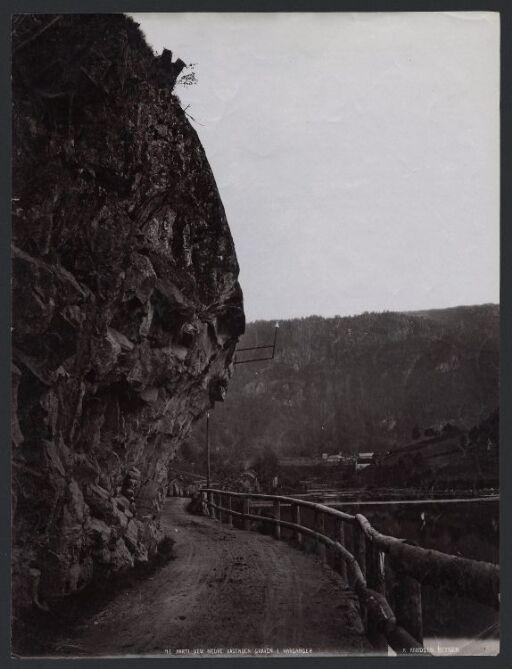 Parti ved Nedre Vasenden, Graven i Hardanger