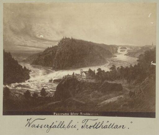 Panorama öfver Trollhättan