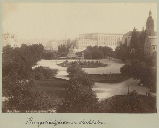Stockholm. Kungsträdgården. 34